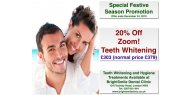Special Festive Season Offer: 20% Off ZOOM! Teeth Whitening at BrightSmile Dental Clinic NW3 - OFFER EXPIRED